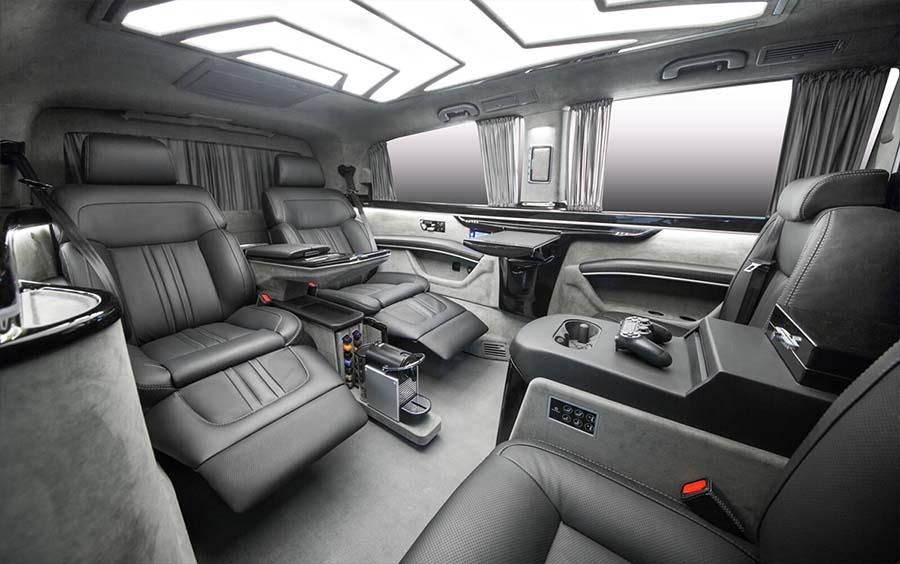Royal 7 Bus после переоборудования Mercedes V