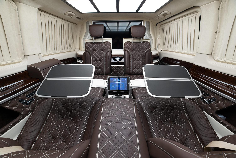 Мобильный офис на колесах Mercedes V class