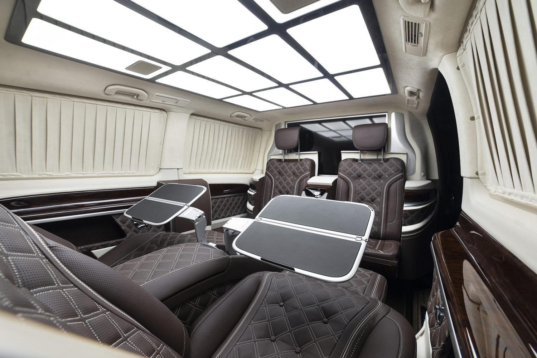 Офис на колесах в автомобиль Mercedes V class
