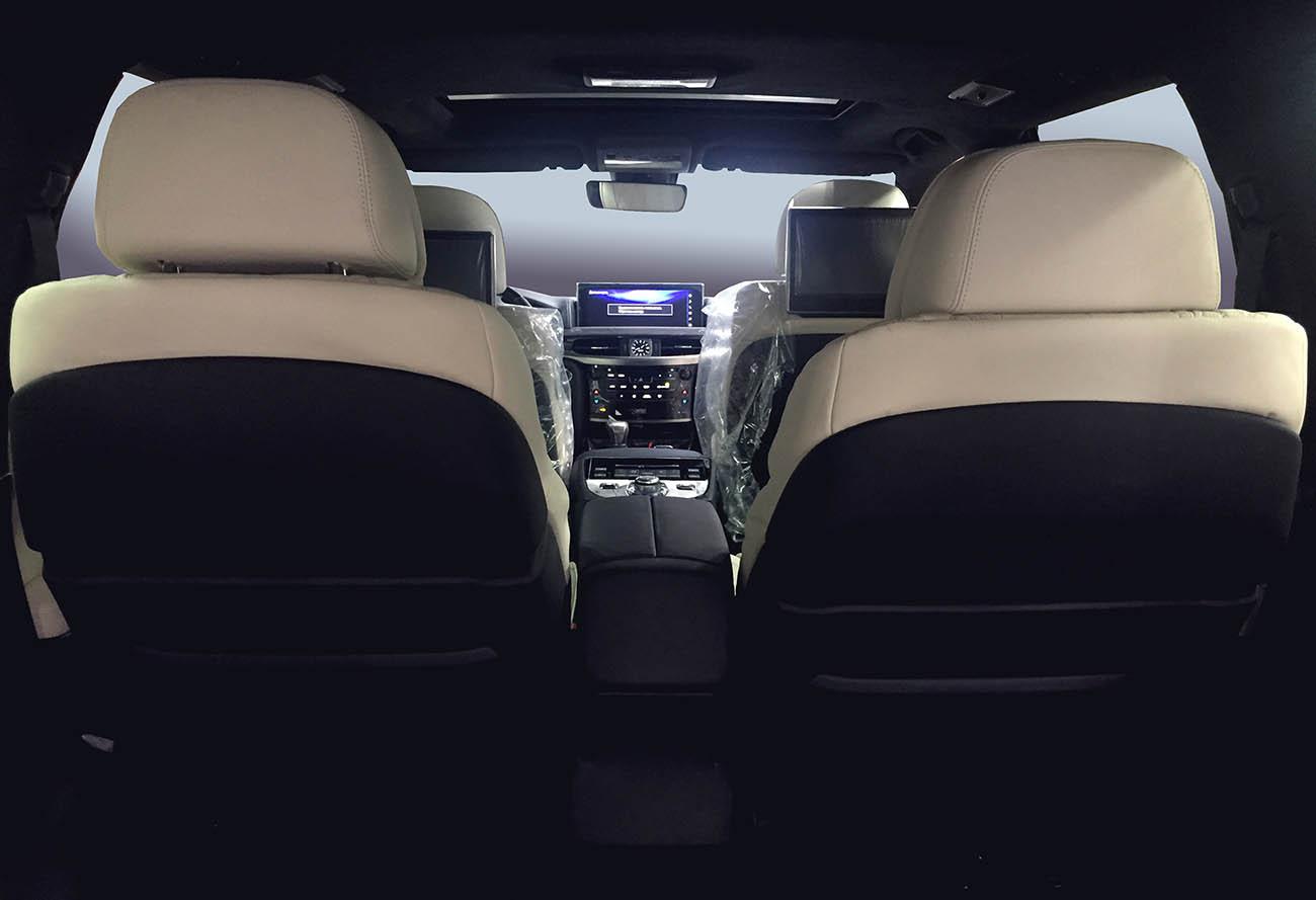 Установка комфортных сидений в Лексус ЛХ
