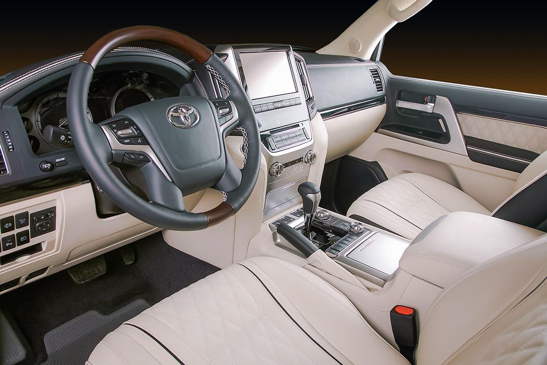 Установка комфортных сидений Lexus