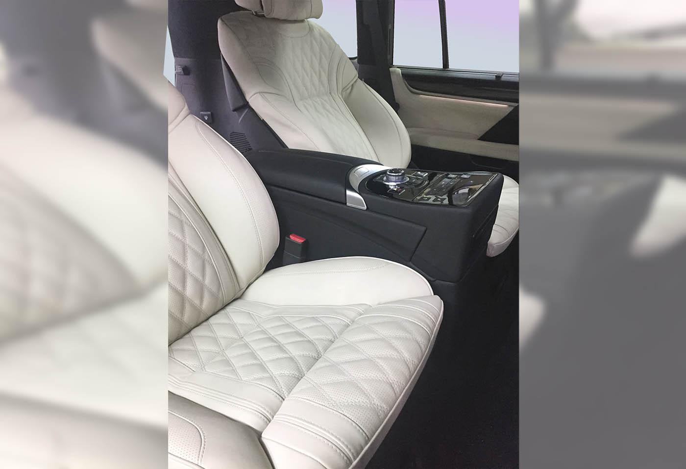 Комфортные сидения в Lexus LX570