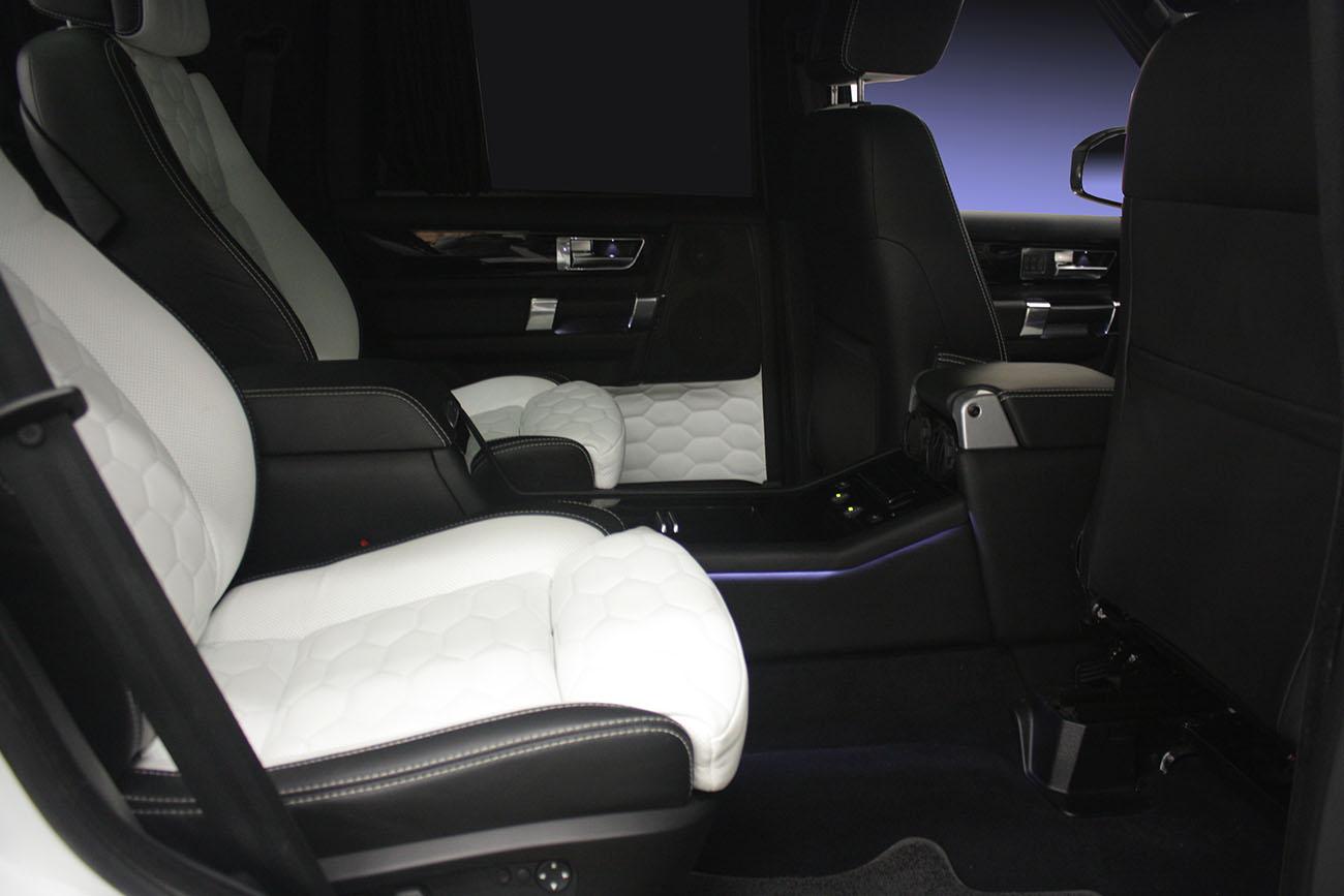 Комфортные сидения установить в Land Rover