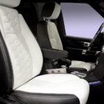 Установка комфортных раздельных сидений в Land Rover