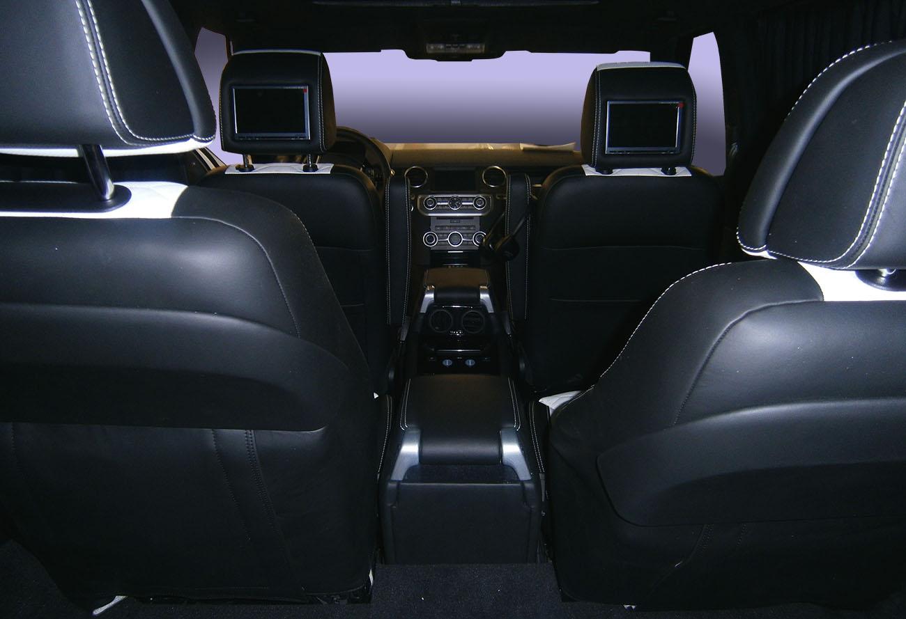 Установка комфортных сидений в Land Rover