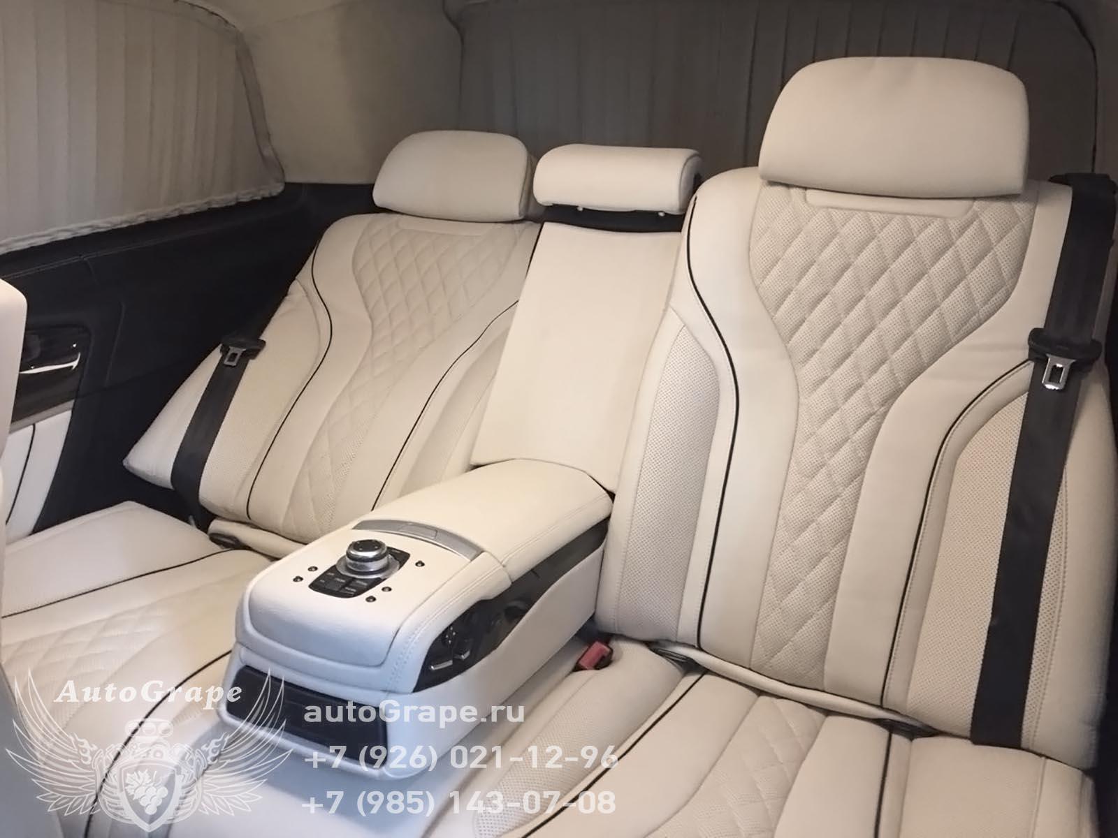 установка комфортных кресел от bmw7 с массажем в автомобиль