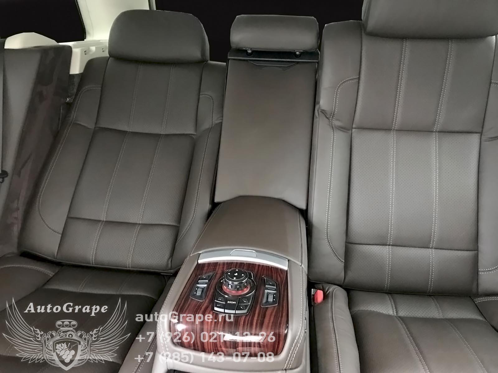 установка комфортных кресел от bmw с массажем в автомобиль